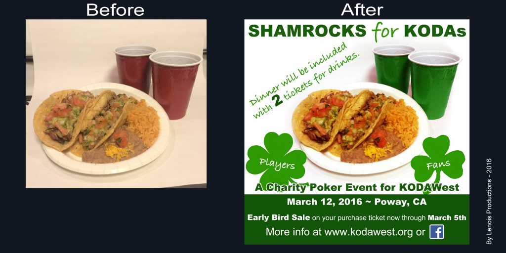 KW poker Before&After